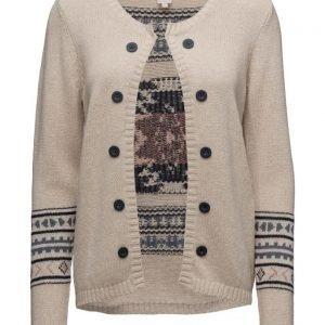 Cream Darling Knit Cardigan neuletakki