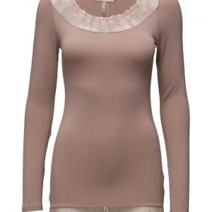 Cream Florence Ls Top