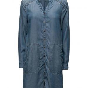 Cream Gilly Shirt Dress mekko