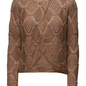 Cream Ivy Knit Cardigan neuletakki