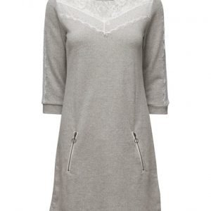 Cream Larisa Sweat Dress mekko