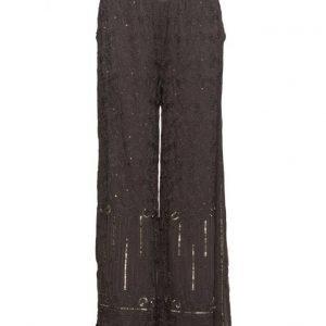 Cream Luxa Pants leveälahkeiset housut