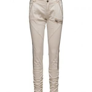 Cream Viola Pants- Lily skinny housut