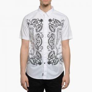 Crooks & Castles Corpse Paisley Woven S/S Shirt