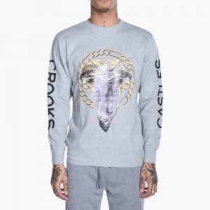 Crooks & Castles Cultivated Lux Medusa Swetshirt
