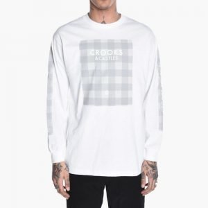 Crooks & Castles Spotted Bandusa Long Sleeve Tee