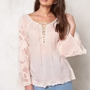 Culture Amund Blouse Peach Blush