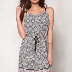 Culture Ari Dress Rose/Grey/Blue