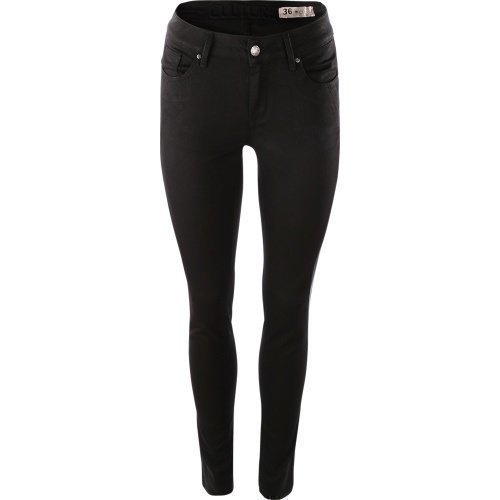 Culture Faith Jeannina Mid Fit Jeans Black
