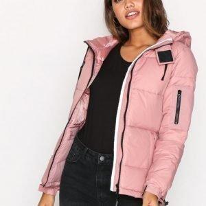 D Brand Eskimå Down Jacket Untuvatakki Dusty Pink