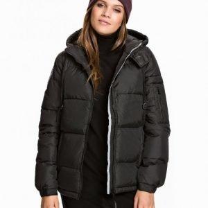D Brand Eskimå Down Jacket Untuvatakki Musta