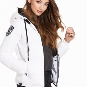 D Brand Eskimå Down Jacket Untuvatakki Valkoinen / Musta
