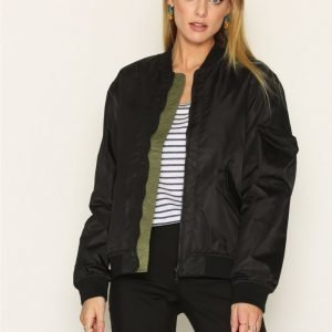 D Brand Hunter Bomber Jacket Takki Black