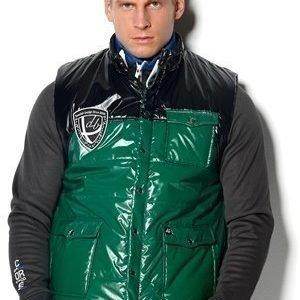 D.Brand Conrad Vest musta/vihreää