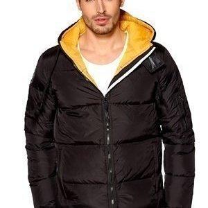 D.Brand Igloo Jacket Musta/Keltainen