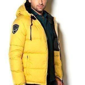 D.Brand Igloo-takki Keltainen