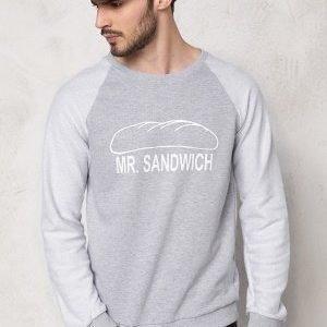 D.Brand Mr Sandwich Sweatshirt Grey