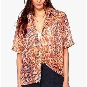 D.Brand Visby Short Sleeve Shirt Leo Print