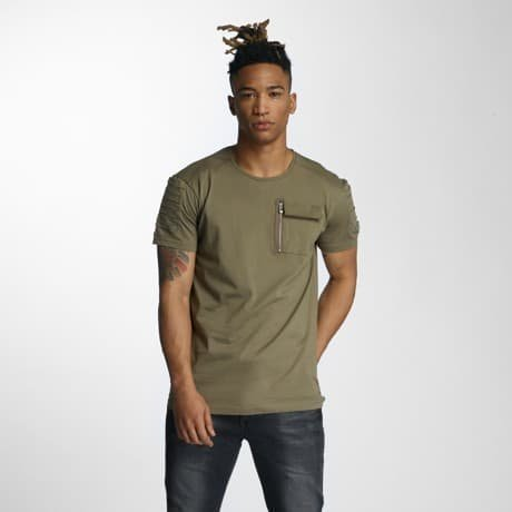 DEF T-paita Oliivi