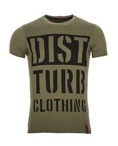 DISTTURB Block Tee Green