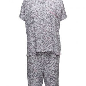 DKNY Homewear Dkny City Break S/Sl Top & Capri Set pyjama