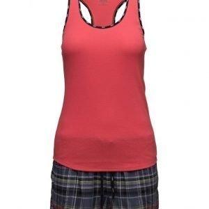DKNY Homewear Dkny Plaid Town Boxed Tank/Boxer/Eyemask pyjama