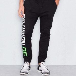 D.O.X Charles Sweat Pants Black