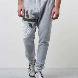 D.O.X Isac Sweat Pants Grey Melange