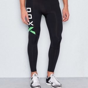 D.O.X Nathan Compression Logo Tights Black