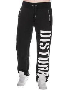 DSTRB Sweat Pants Black