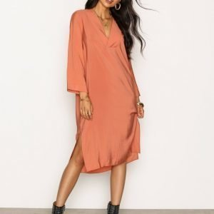 Dagmar Candice Dress Loose Fit Mekko Terracotta