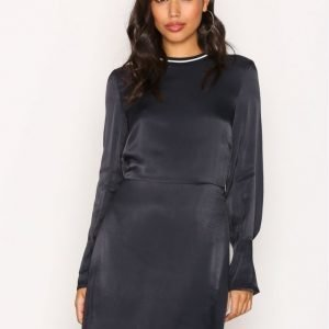 Dagmar Colombe Dress Loose Fit Mekko Navy