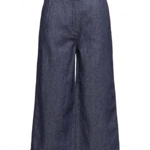 Dagmar Florence Denim leveälahkeiset housut