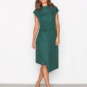Dagmar Josie Dress Kotelomekko Emerald Green