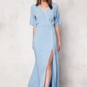Dagmar Lillian Long Dress 503 Powder Blue