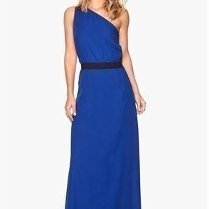 Dagmar Mine woven dress 565 Caspian blue