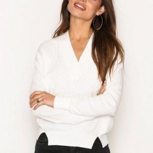 Dagmar Sooz Sweater Neulepusero White