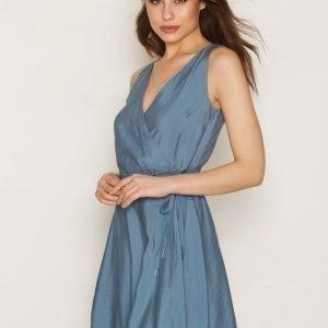 Dagmar Violet Dress Skater Mekko Blue