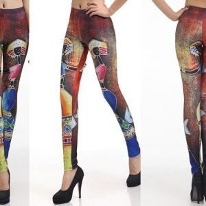 Dancing woman leggings tights