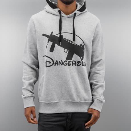 Dangerous DNGRS Huppari Harmaa