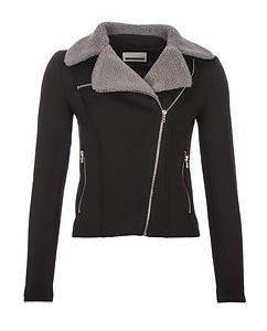 Davos Short Jacket Black