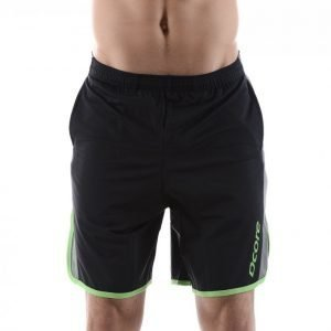 Dcore Performance X-Fit Focus Shorts Treenishortsit Musta / Vihreä