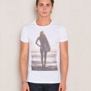 Dead Legacy Sunset Surf Girl White