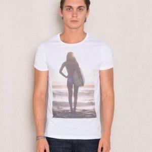 Dead Legacy Sunset Surf Girl White
