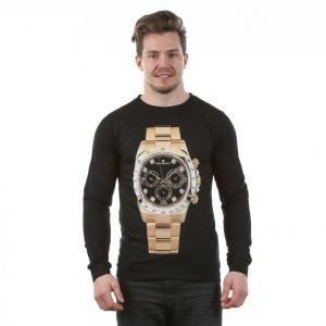 Dead Legacy Watch Gold Pitkähihainen T-paita Musta