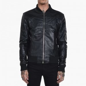 Deadwood Leather Bomber Jacket