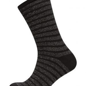 Decoy Lurex Socks Stripe nilkkasukat