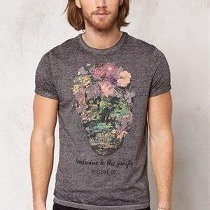 Deeluxe Jungle T-Shirt Grey