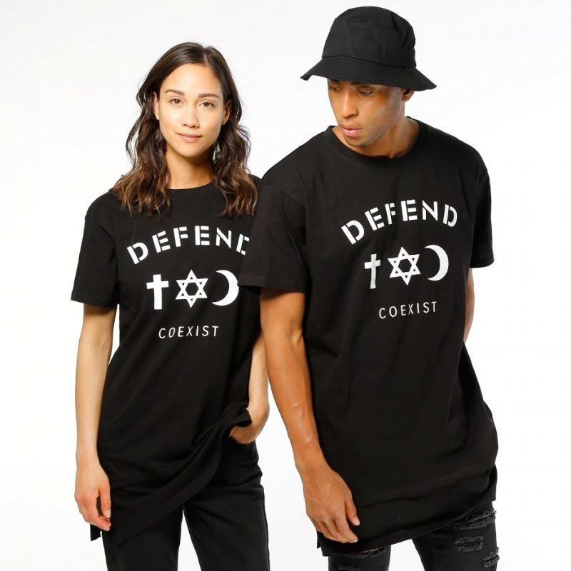 Defend Paris Co Long -t-paita