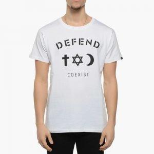 Defend Paris Defend Coexist Tee White